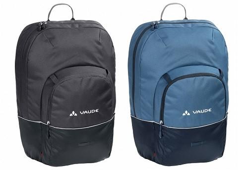 Vaude Cycle 22 oder 28 - Rucksack und Hinterradtasche