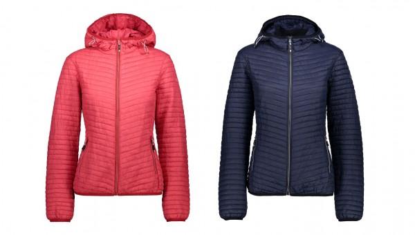 CMP Woman Fix Hood Jacket - Damen Outdoor/Steppjacke