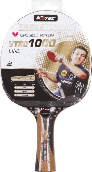 V3TEC Tischtennisschläger VTEC 1000 - Butterfly Timo Boll Edition