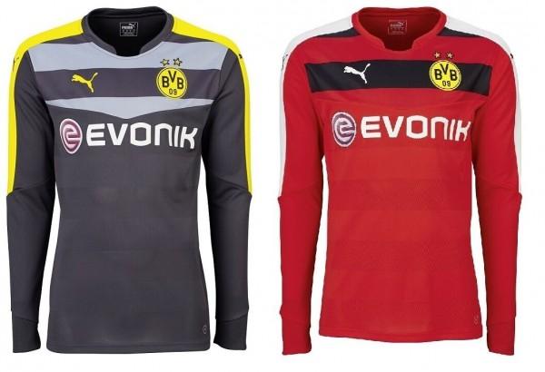 Puma Borussia Dortmund GK Shirt - Torwarttrikot Saison 2015/16 Herren