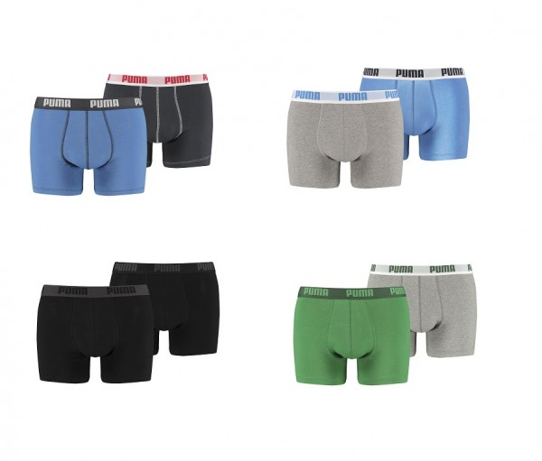 Puma Herren Basic Boxershorts (2er Pack)