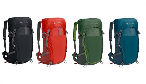 Vaude Brenta 25, 30 oder 35 - sportlicher Wanderrucksack in versch. Farben