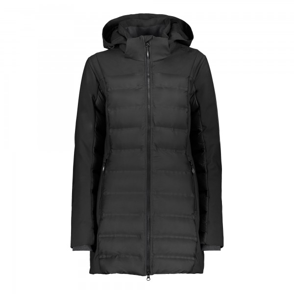 CMP Woman Parka Fix Hood - Damen Steppmantel