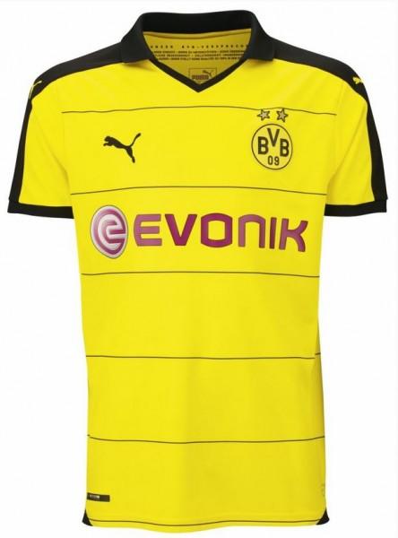 Puma BVB Borussia Dortmund Home Herren/Kinder Trikot Saison 2015/16