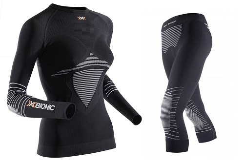 X-Bionic Lady Energizer® MK2 Shirt ODER Pant -Damen Funktionsunterwäsche