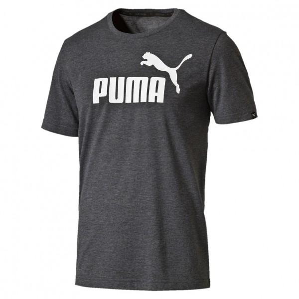 Puma Herren Style No.1 Logo Herren Meliertes T-Shirt