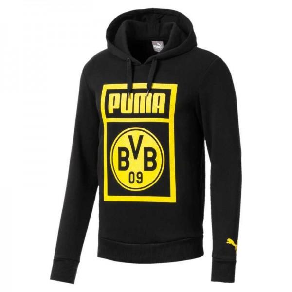 PUMA BVB Shoe Tag Hoody - Kapuzensweatshirt Herren 2018/19