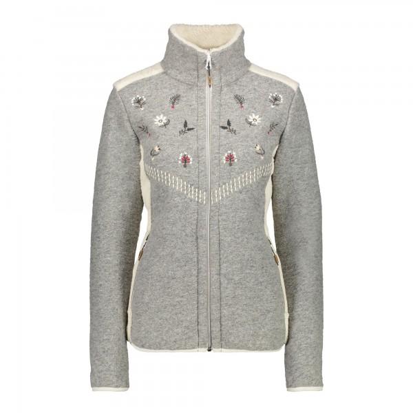 CMP Woman Jacket - Damen Strick-Fleecejacke
