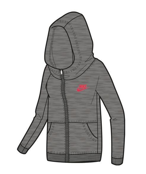 Nike Girls' Sportswear Modern Hoodie - Mädchen Kapuzenpullover