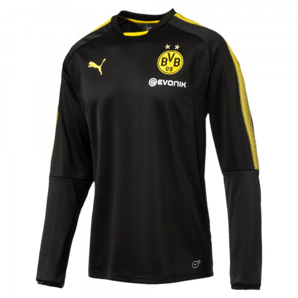 Puma BVB Training Sweat (2017/18) - Herren Trainings-Sweatshirt