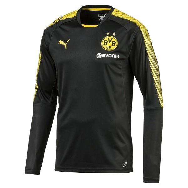 Puma BVB Borussia Dortmund LS Training Jersey (2017/18) - Herren Longsleeve Trainingstrikot