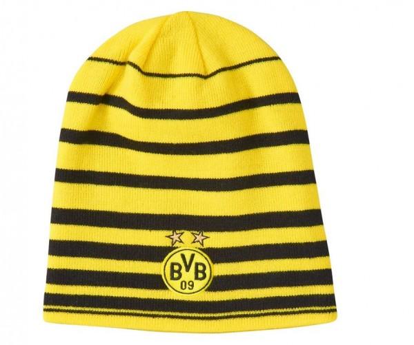 PUMA BVB Borussia Dortmund Wende-Mütze Performance Beanie oder Leisure Beanie