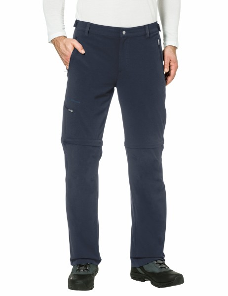 VAUDE Men's Farley Stretch T-Zip Pants II - Herren Zip Off Hose