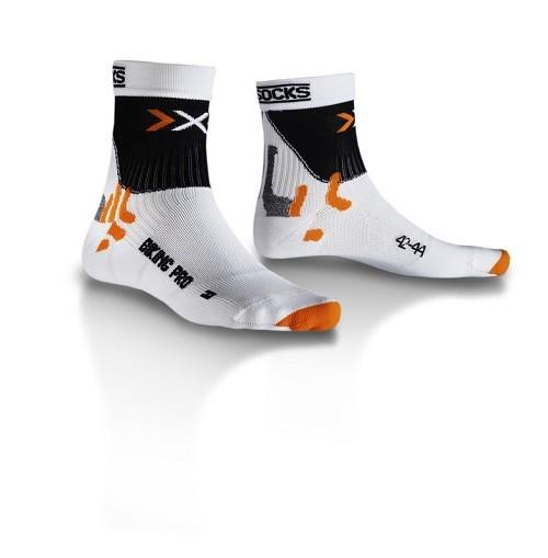 X-Socks BIKING PRO Mid Radsocke - Fahrradsocken
