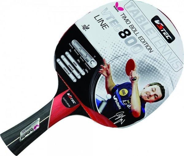 V3TEC Tischtennisschläger VTEC 800 - Butterfly Timo Boll Edition