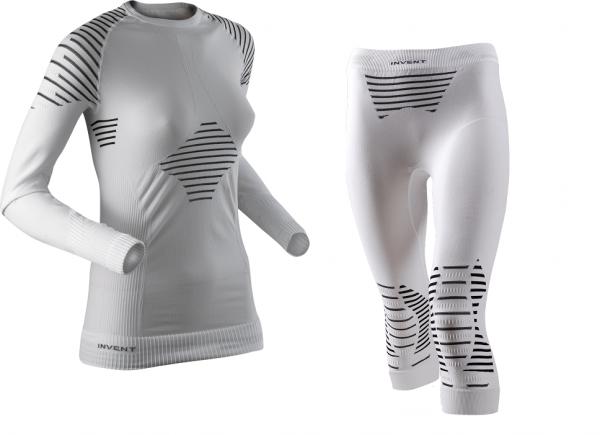 X-Bionic Lady Invent UW Shirt ODER Pant - Damen Funktionsunterwäsche