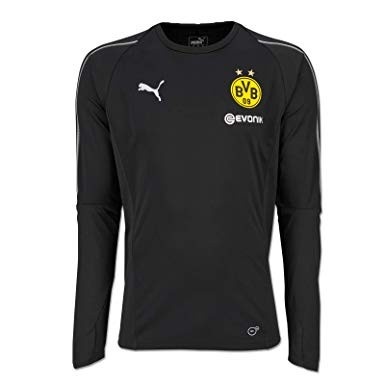 Puma BVB Borussia Dortmund Herren Longshirt Training Jersey Saison 2018/19