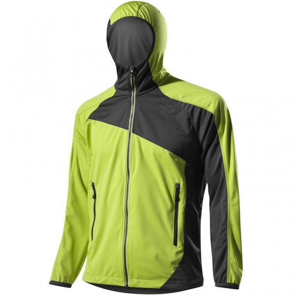 Löffler Herren Kapuzenjacke Windstopper Softshell light