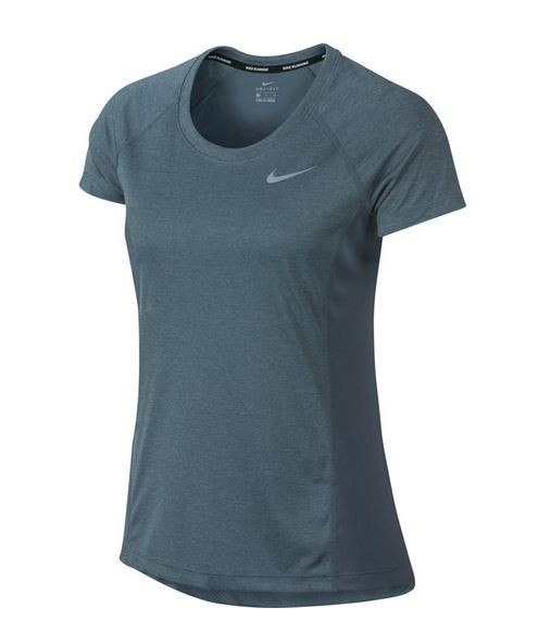 Nike Women's Dry Miler Running Top - Damen Trainingsshirt