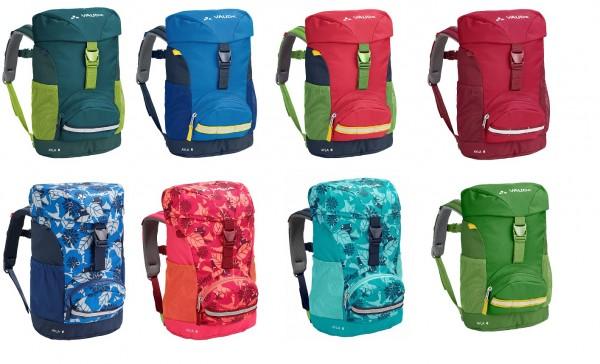 VAUDE Ayla 6 Kinderrucksack mit Frosch-Hüfttasche