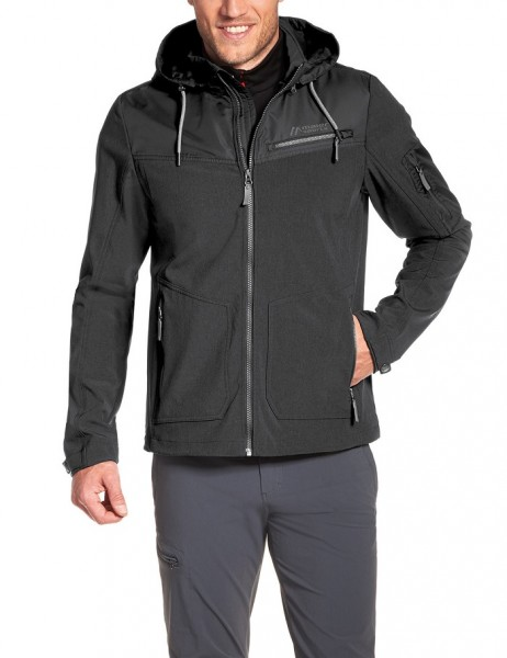 Maier Sports AMON Man - Herren Softshelljacke